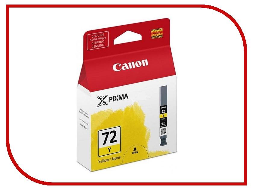 Картридж Canon PGI-72 Y Yellow для PRO-10 6406B001<br>