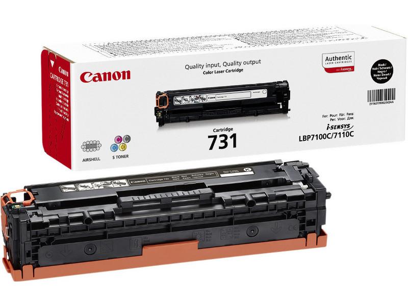 Аксессуар Canon 731BK для LBP7100Cn/7110Cw 6100стр 6272B002 Black