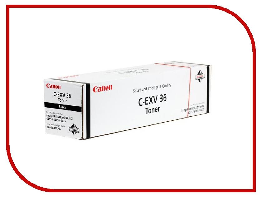 Картридж Canon C-EXV36 Black для iR6055/6065/6075 56000стр 3766B002<br>