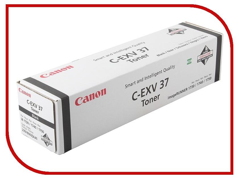 Картридж Canon C-EXV37 Black для iR1730i/1740i/1750i 2787B002<br>
