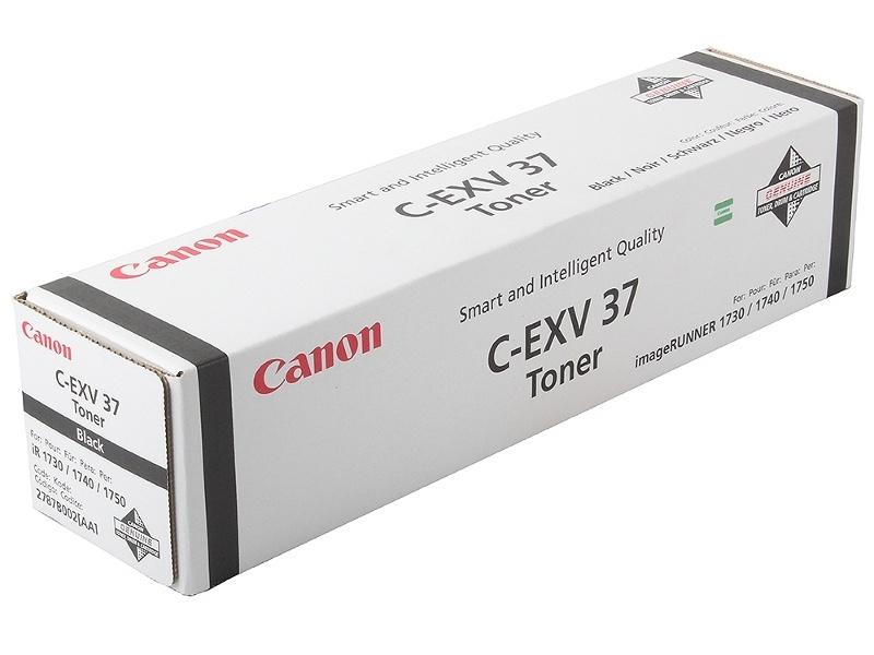 Аксессуар Canon C-EXV37 для iR1730i/1740i/1750i Black