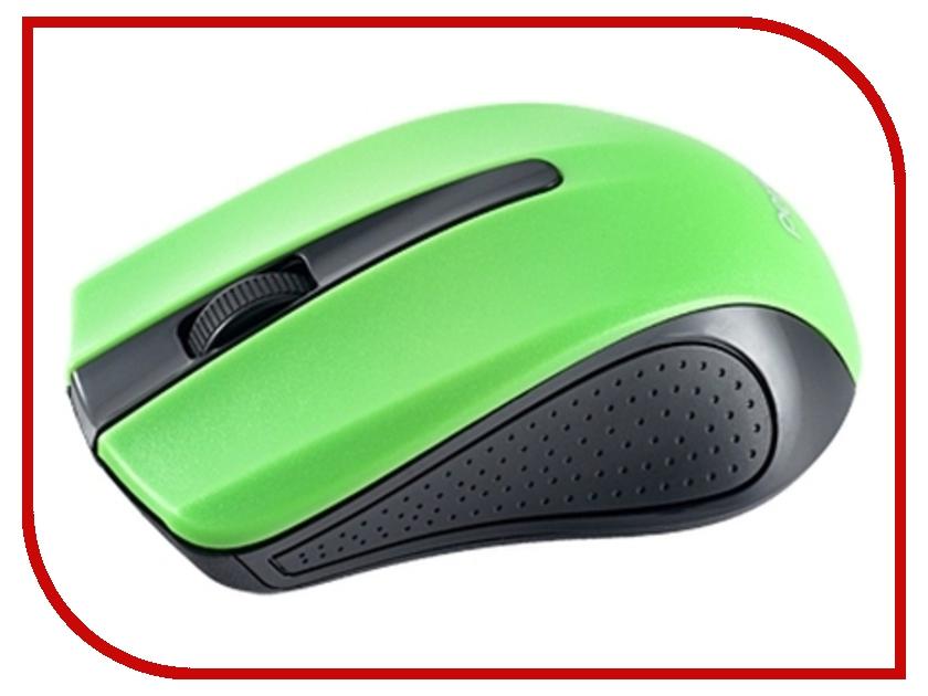 Мышь беспроводная Perfeo USB Black-Green PF-353-WOP-GN