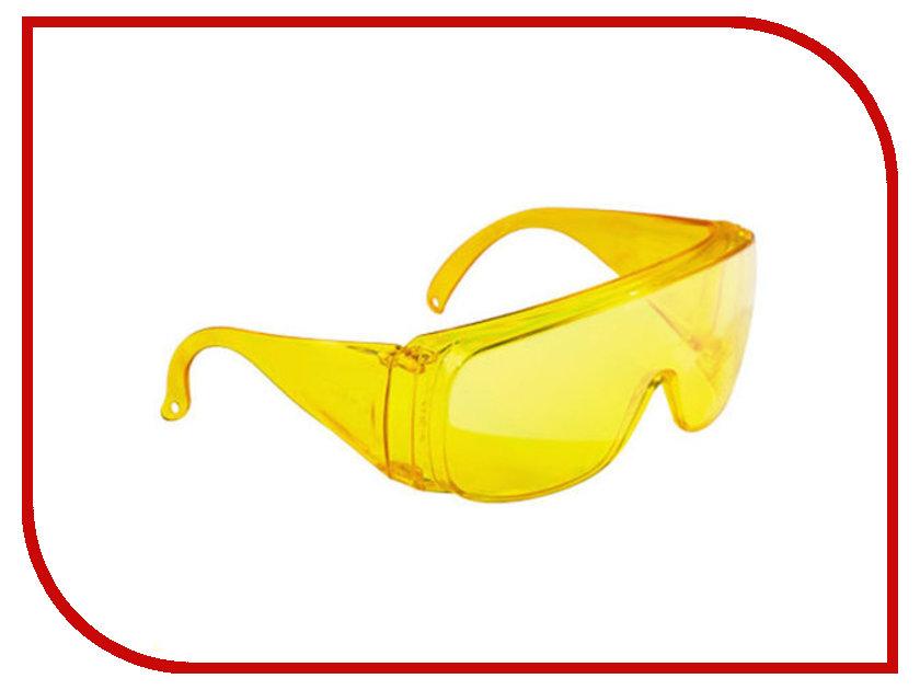 Фото - Аксессуар Очки защитные СибрТех 89157 Yellow очки сибртех 89156 защитные открытого типа затемненные ударопрочный поликарбонат