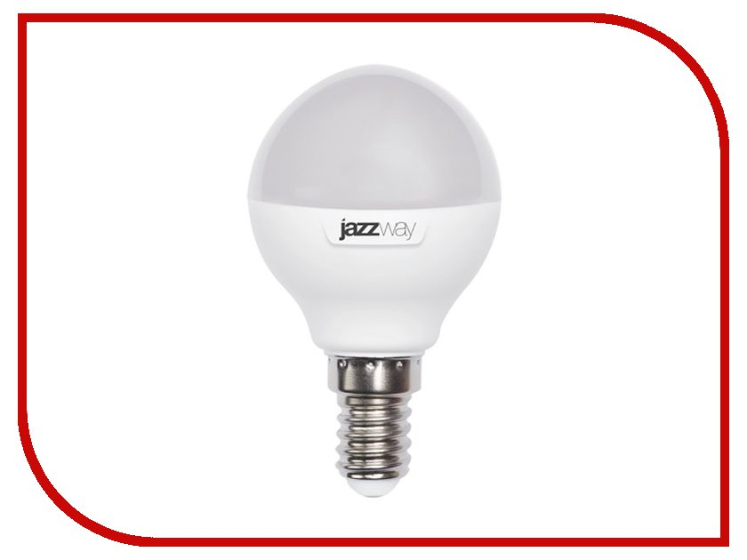 Лампочка Jazzway PLED-SP G45 7w 560Lm E14 230V/50V (5000K) светодиодный фитосветильник jazzway ppg t8i 900 agro 12w ip20