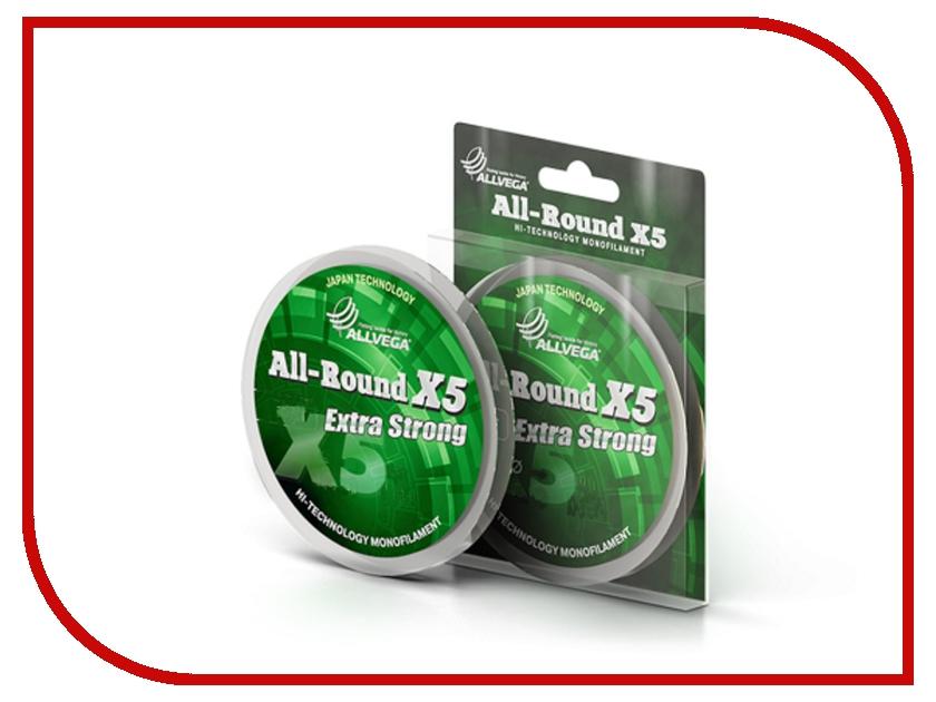 Леска Allvega All-Round X5 50m 0.22mm LAR5022