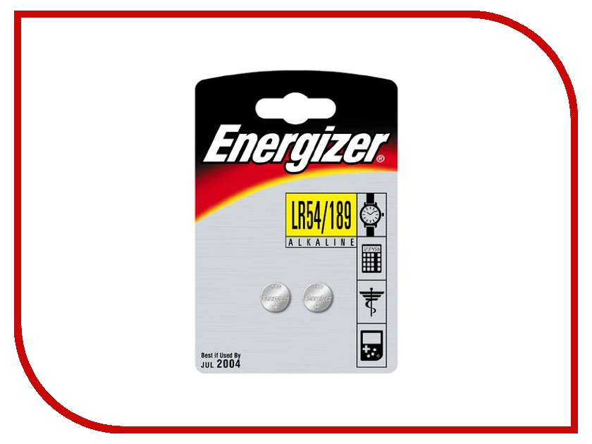 Батарейка LR54 189 - Energizer Alkaline 1.5V (2 штуки) kitcpm04910cteveen91 value kit colgate palmolive dishwashing liquid cpm04910ct and energizer industrial alkaline batteries eveen91