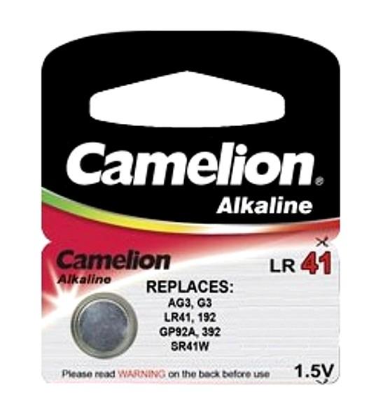 Батарейка Camelion G3/LR41 Plus Alkaline 1.5V AG3-BP10 (1 штука)