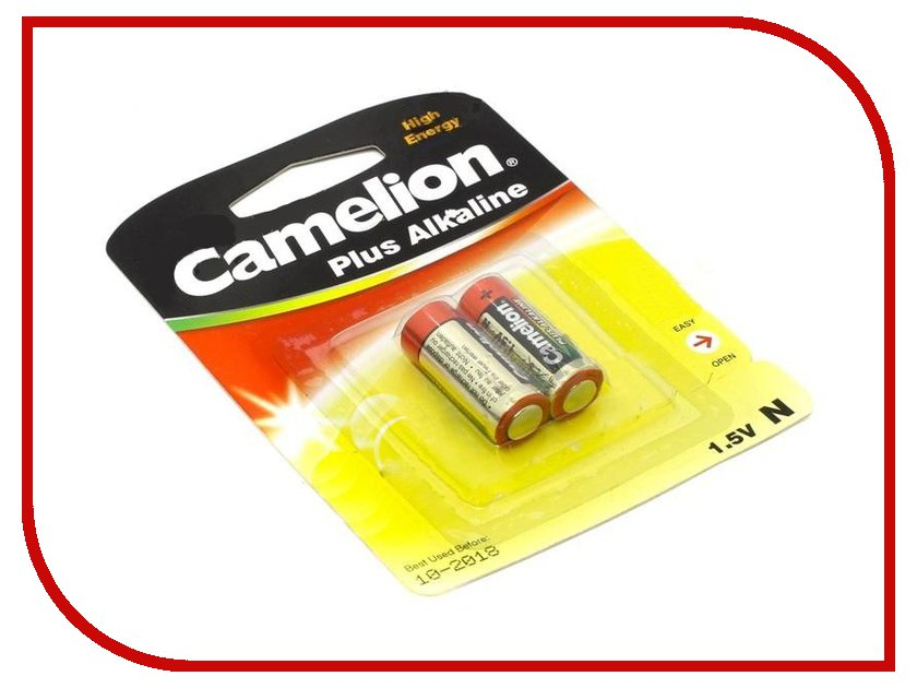 Батарейка Camelion LR1 Plus Alkaline 1.5V LR1-BP2 (2 штуки) gp disposable 800mah alkaline lr1 size n batteries golden 1 5v 2 pcs