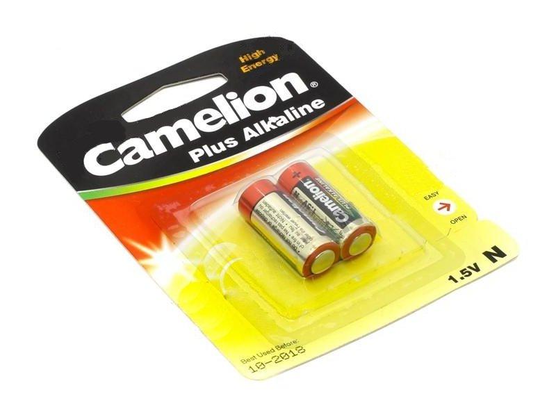 Батарейка Camelion LR1 Plus Alkaline 1.5V LR1-BP2 (2 штуки)