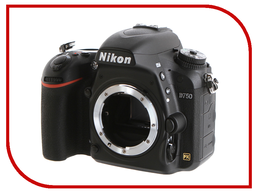 Фотоаппарат Nikon D750 Body d750 dslr 24 3mp hd 1080p fx format camera body 24 120mm nikkor lens bundle includes d750 dslr camera body 24 120mm nikkor lens compact bag tripod card wallet dust blower card reader cleaning kit screen protectors and micro fiber cloth