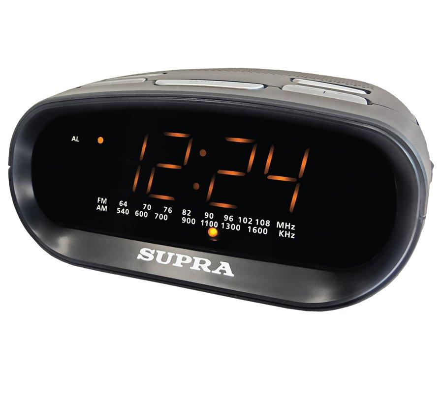 Многофункциональные часы SUPRA SA-32FM Black-Amber<br>