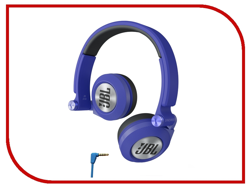 Гарнитура JBL Synchros E30 E30BLU Blue