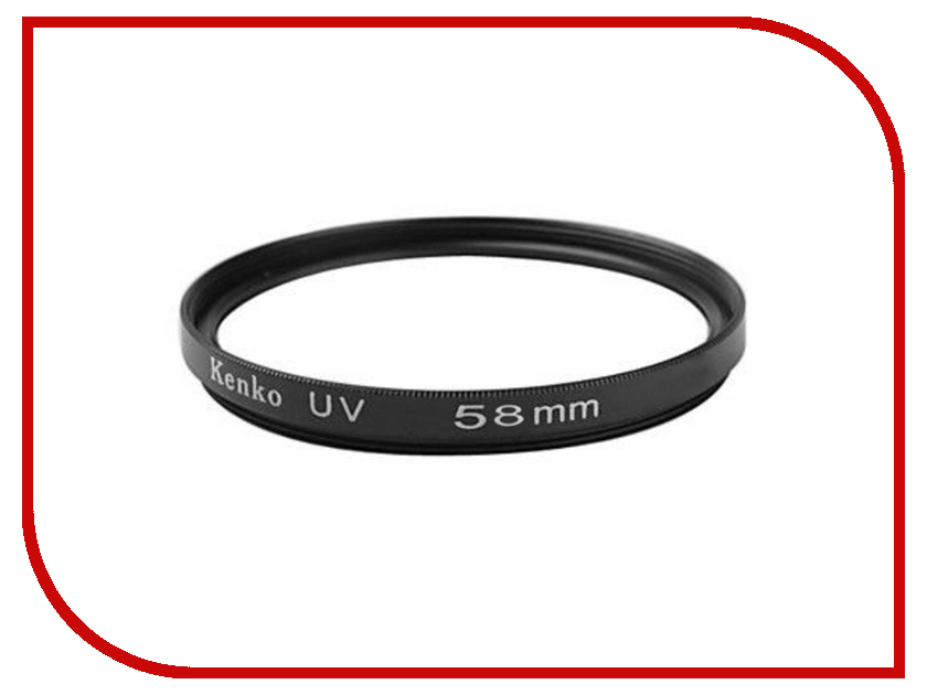 Светофильтр Kenko UV 58mm светофильтр kenko mc uv 0 52mm page 6