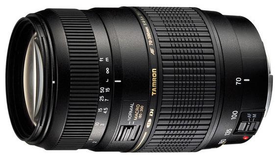 Объектив Tamron Sony / Minolta AF 70-300 mm F/4-5.6 Di LD Macro 1:2