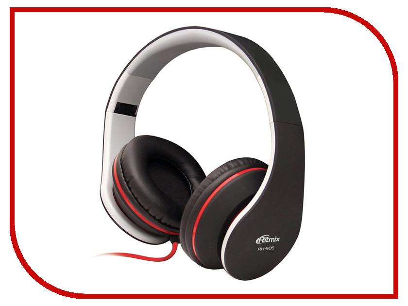 Ritmix RH-505 гарнитура ritmix rh 515m черный