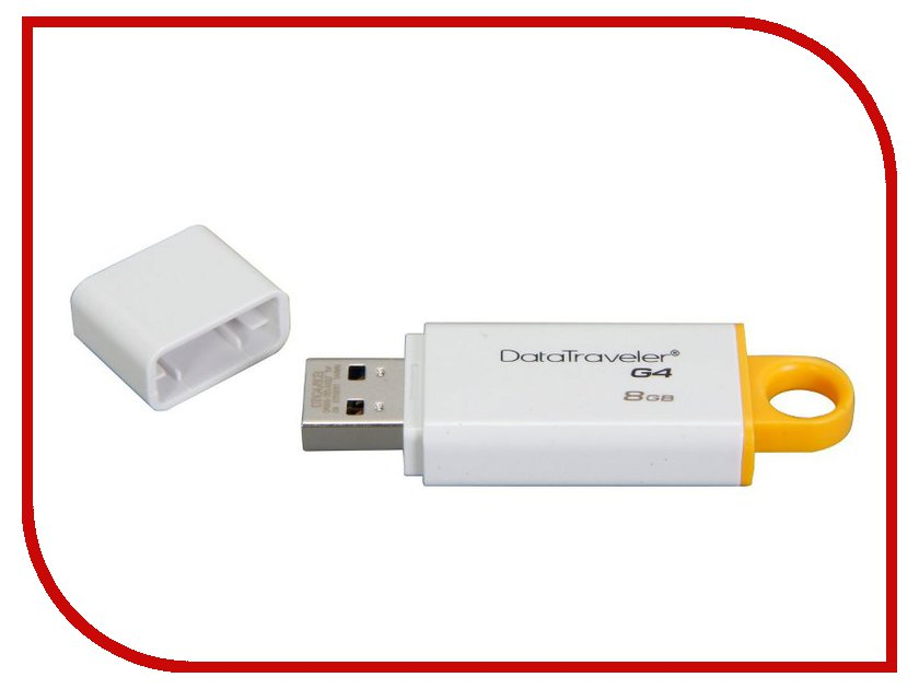 USB Flash Drive 8GB - Kingston DataTraveler G4 USB 3.0 DTIG4/8GB
