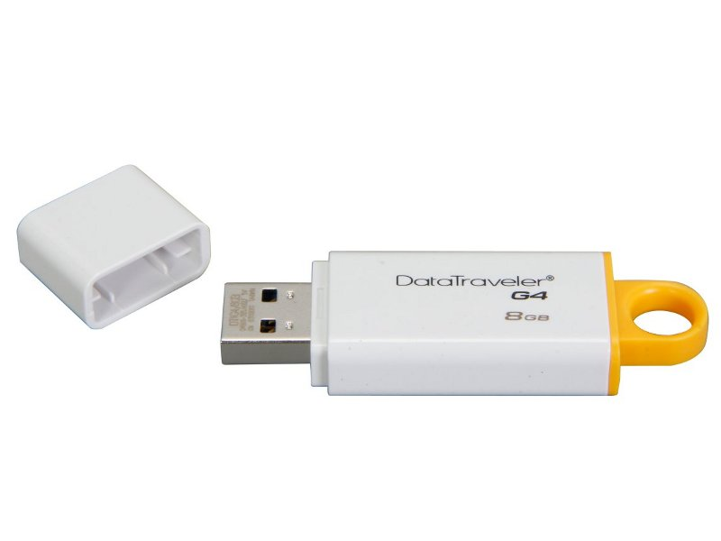 USB Flash Drive 8GB - Kingston DataTraveler G4 USB 3.0 DTIG4/8GB цена и фото