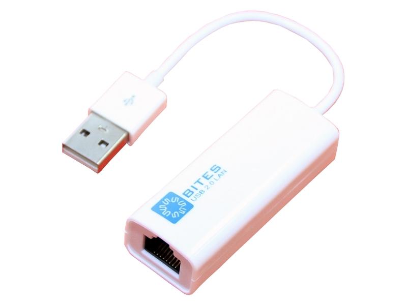 Сетевая карта 5bites USB2.0 - RJ45 UA2-45-02WH White