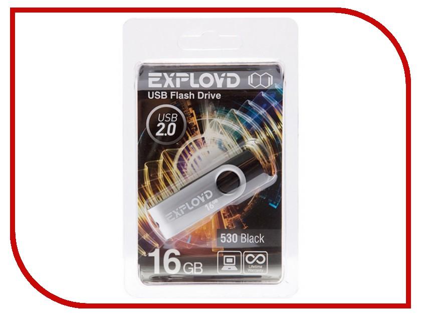 USB Flash Drive 16Gb - Exployd 530 Black EX016GB530-B<br>