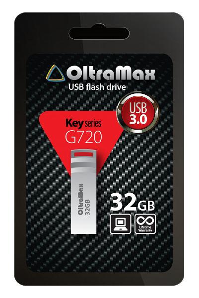USB Flash Drive 32Gb - OltraMax Key G720 3.0 OM032GB-Key-G720<br>