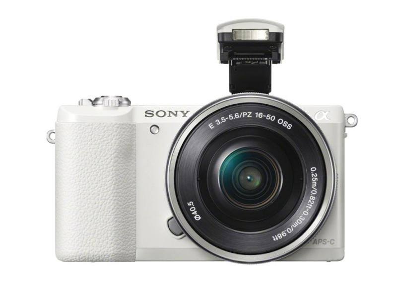 Фотоаппарат Sony Alpha A5100 Kit 16-50 mm F/3.5-5.6 E OSS PZ White<br>