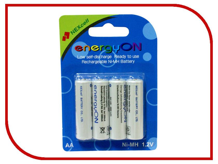 Аккумулятор AAA - NEXcell 800 mAh Ni-MH (4 штуки) AAA800/4pack - энергосберегающие!