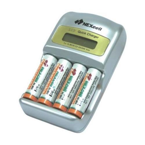 �������� ���������� NEXcell QC-1200 + 2 ��. AA 2700 mAh + 2 ��. AAA 1000 mAh
