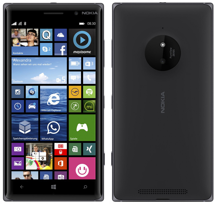 Сотовый телефон Nokia 830 Lumia Black