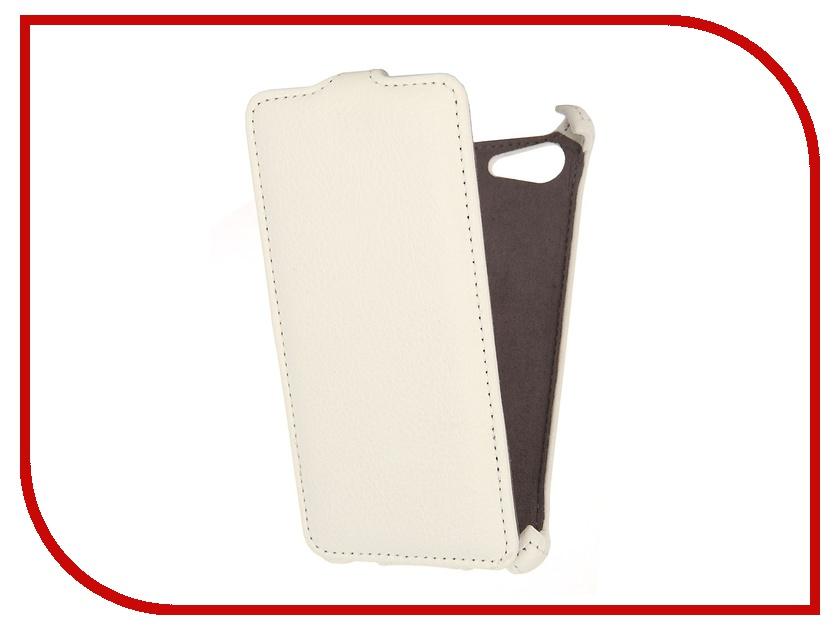 Аксессуар Чехол Sony Xperia E2 / E2 Dual Gecko White<br>