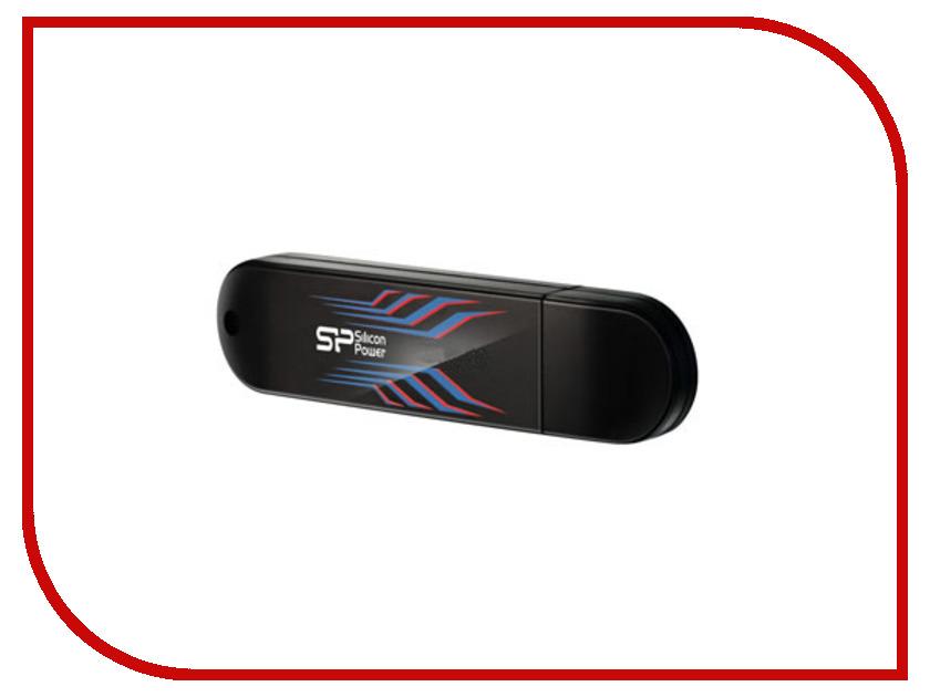 USB Flash Drive 64Gb - Silicon Power Blaze B10 USB 3.0 Black SP064GBUF3B10V1B silicon power blaze b06 16gb white usb накопитель