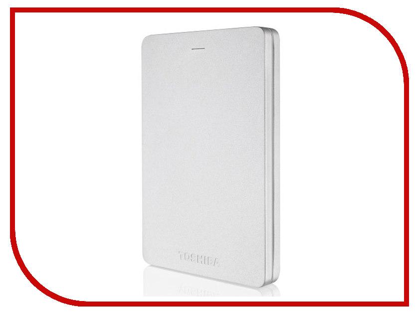 Жесткий диск Toshiba Canvio Alu 2Tb Silver HDTH320ES3CA внешний жесткий диск lacie 9000304 silver