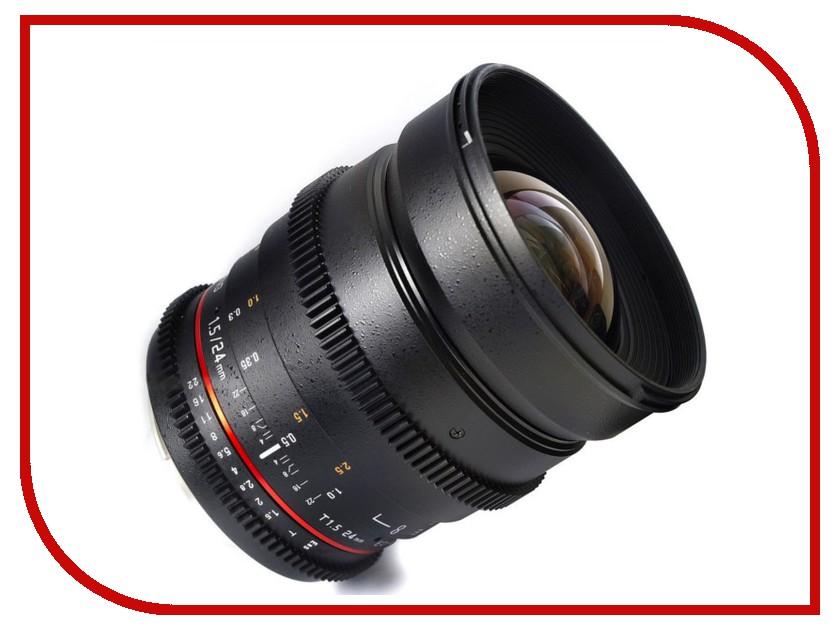 Объектив Samyang Sony E NEX 50 mm T1.5 AS UMC VDSLR