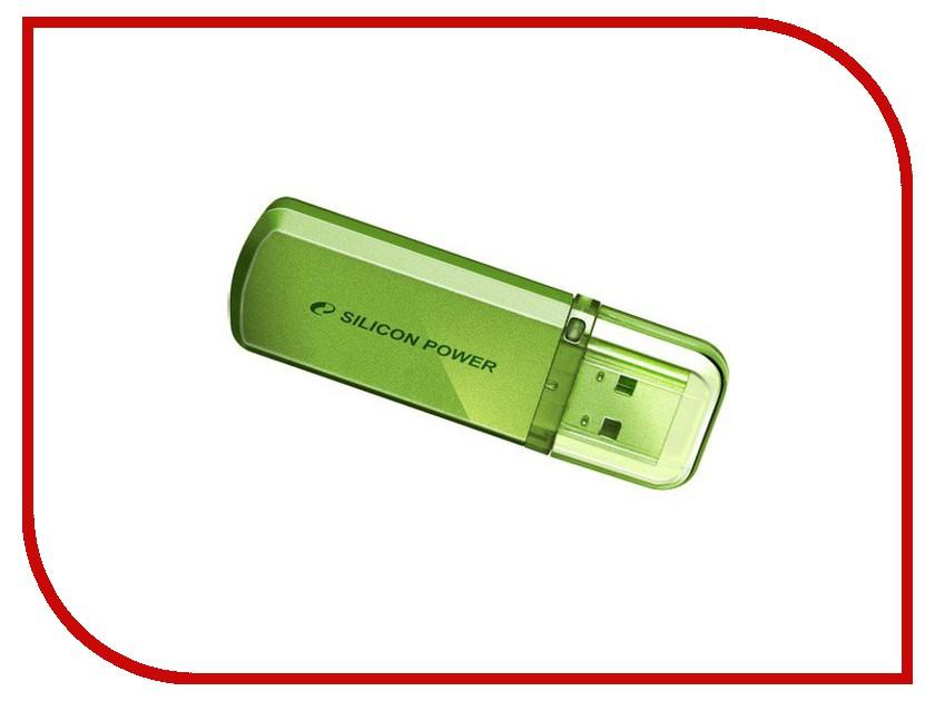 USB Flash Drive 64Gb - Silicon Power Helios 101 Green SP064GBUF2101V1N