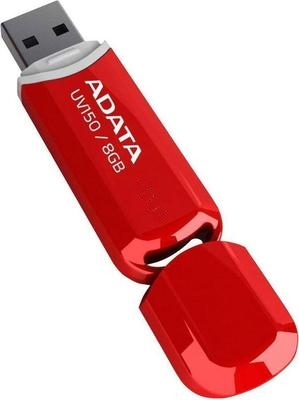Фото - USB Flash Drive 64Gb - A-Data UV150 Red AUV150-64G-RRD usb flash drive 64gb a data dashdrive uv128 usb 3 0 auv128 64g rby