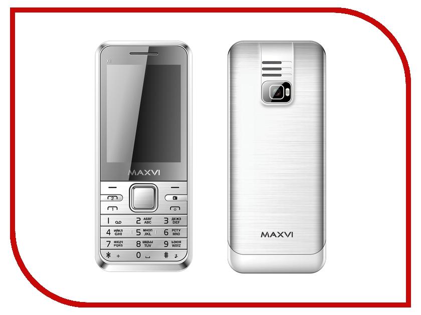 Сотовый телефон Maxvi X1 Silver