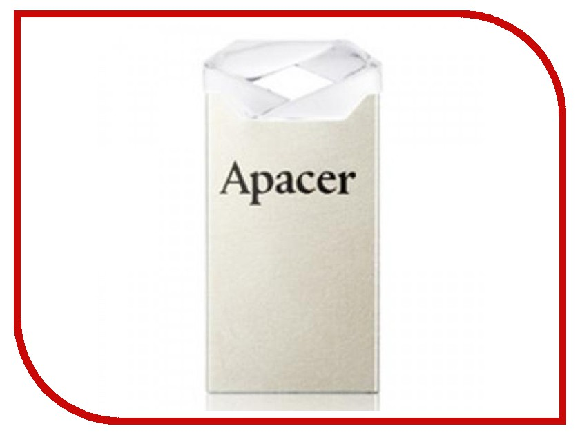 USB Flash Drive 16Gb - Apacer AH111 Crystal AP16GAH111CR-1