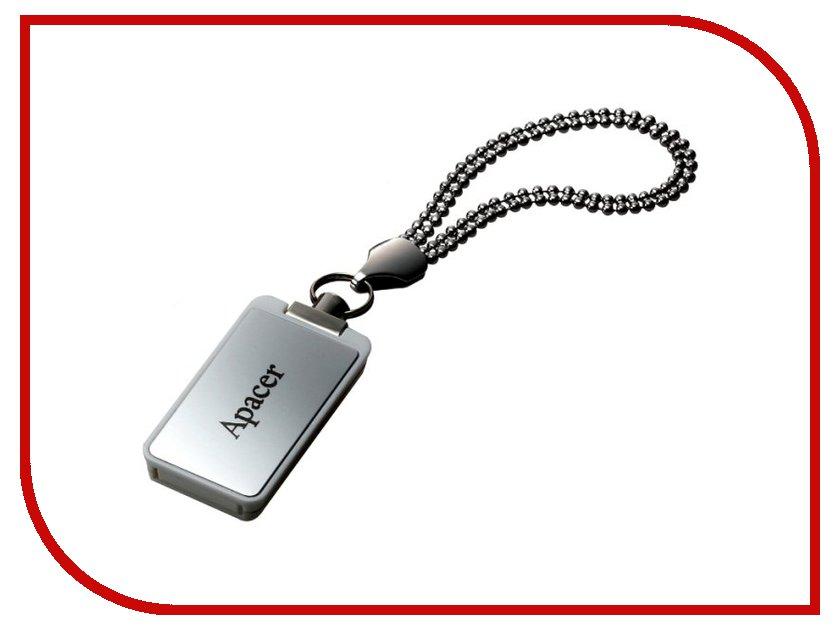 USB Flash Drive 8Gb - Apacer Handy Steno AH129 Silver AP8GAH129S-1<br>