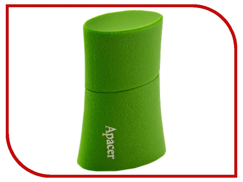 USB Flash Drive 8Gb - Apacer AH137 Green AP8GAH137G-1