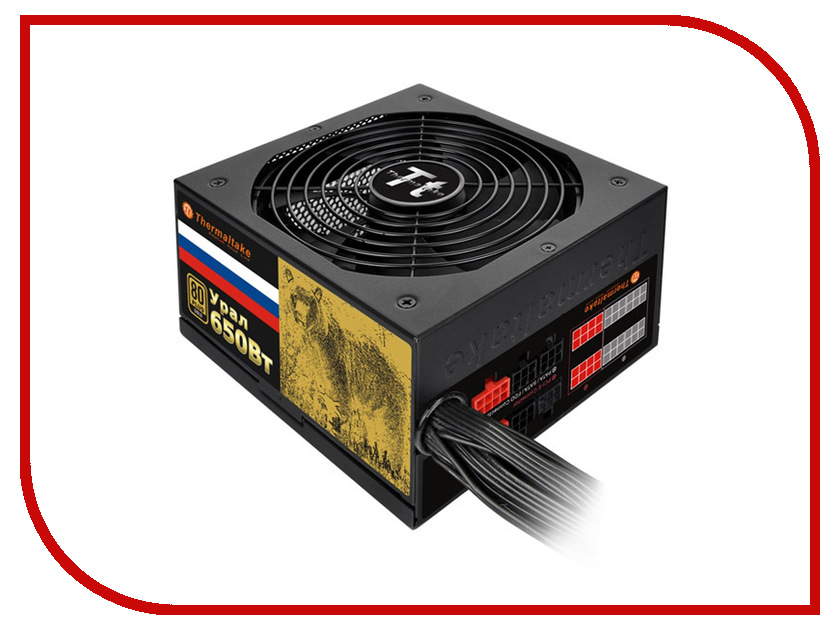 Блок питания Thermaltake Russian Gold Ural 650W W0426RE<br>