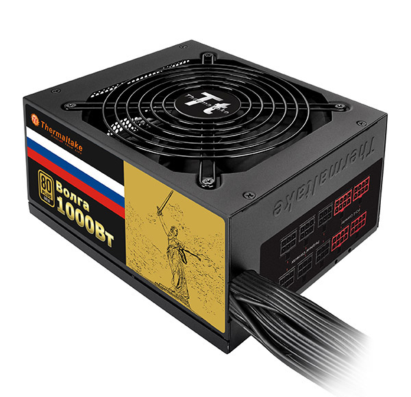 Блок питания Thermaltake Russian Gold Volga 1000W W0429RE