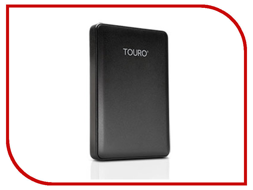 Жесткий диск Hitachi / HGST 1Tb Touro Mobile HTOLMU3EA10001ABB 0S03802 / HT0S03802 Black