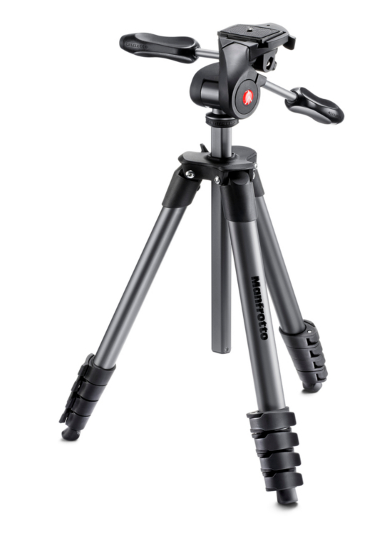 Штатив Manfrotto Compact Advanced Black MKCOMPACTADV-BK цены онлайн