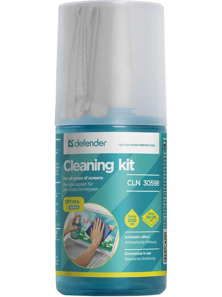 Очиститель спрей Defender CLN 30598 200ml + салфетка