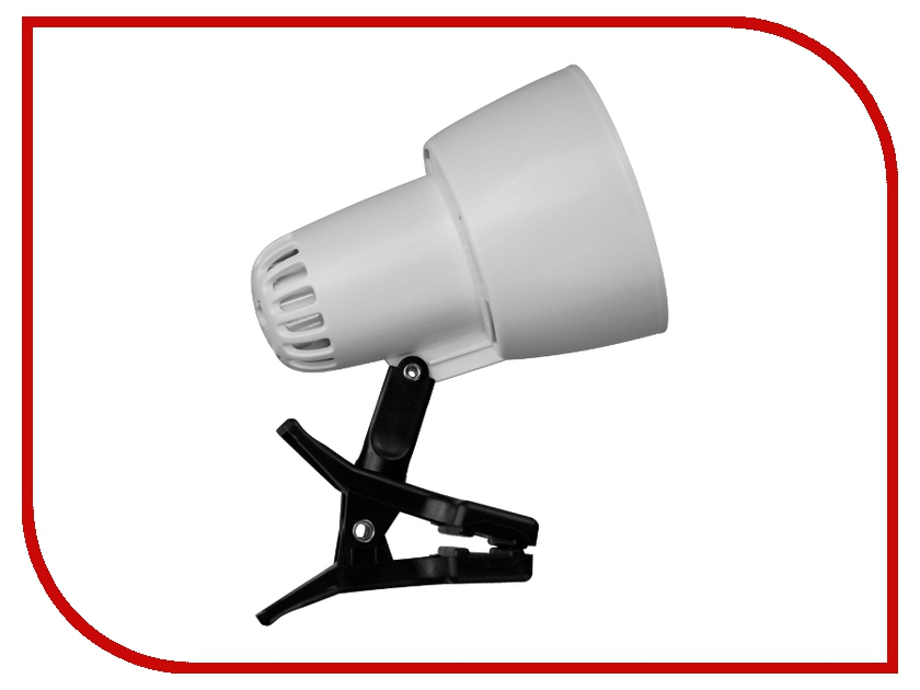 Лампа Ультра Лайт KT034A Прищепка White светильник ультра лайт нг06 210