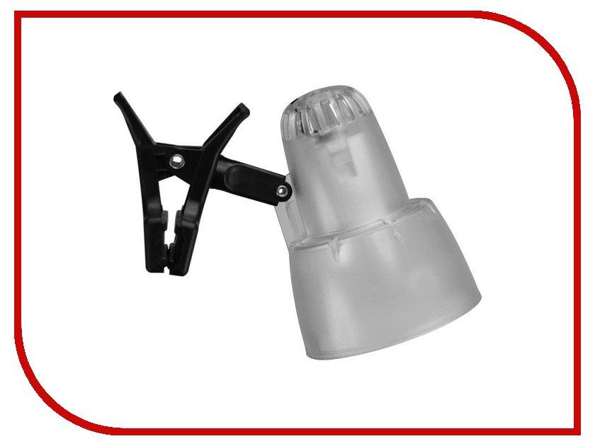 Лампа Ультра Лайт KT034A Прищепка Transparent White<br>