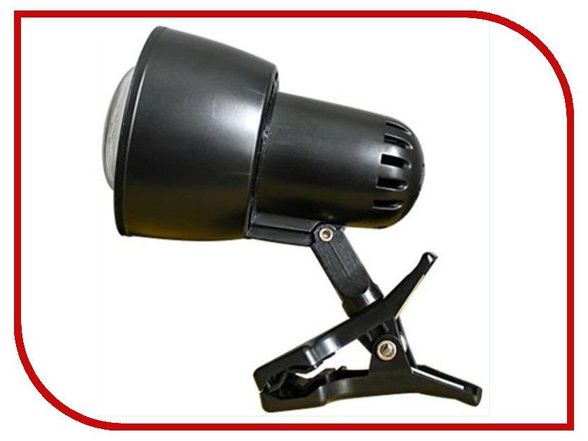 Лампа Ультра Лайт KT034B Прищепка Black светильник ультра лайт нг06 210