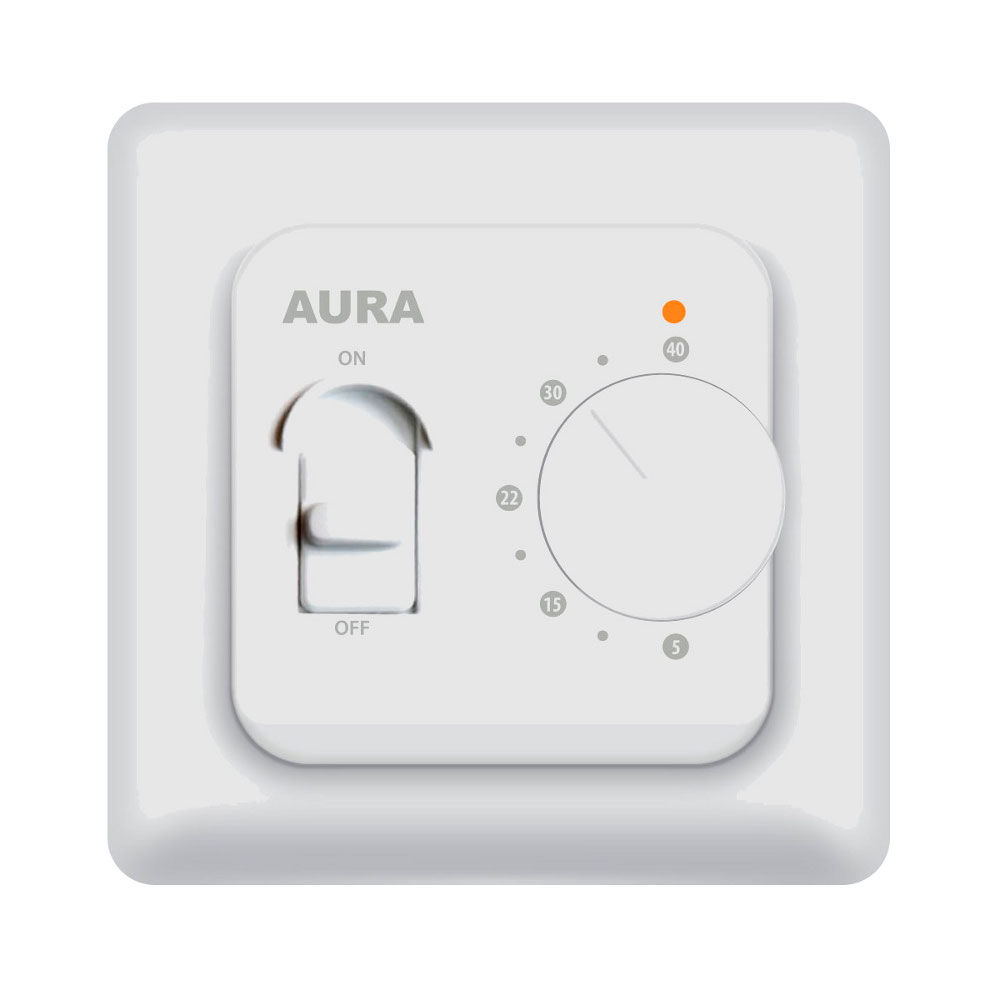 Аксессуар AURA LTC 230 White терморегулятор