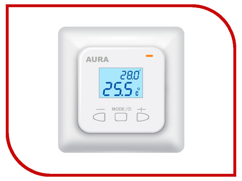 Аксессуар AURA LTC 530 White терморегулятор<br>