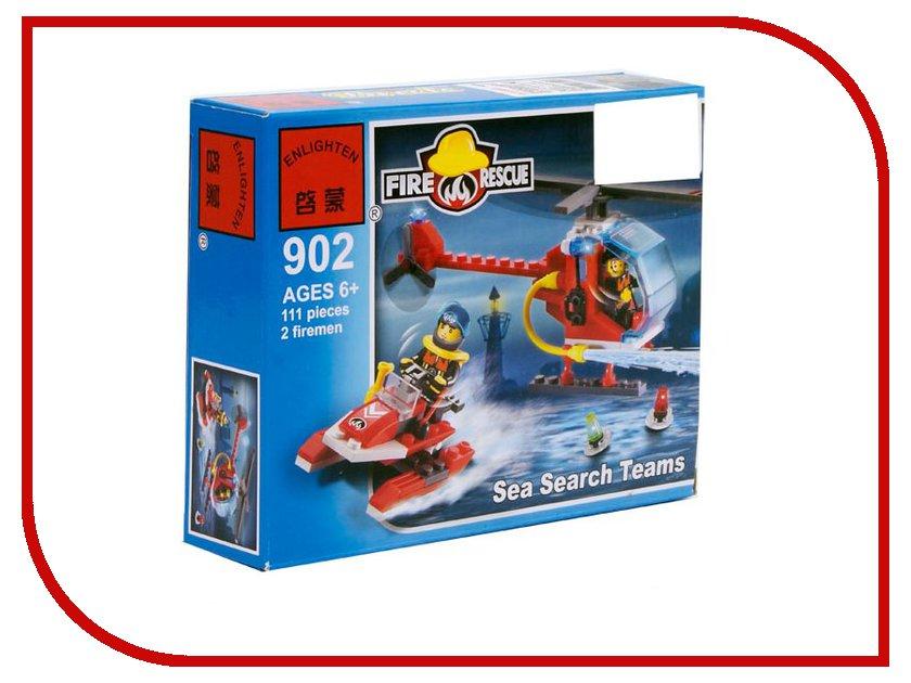 Конструктор Enlighten Brick Пожарная команда 902 111 дет