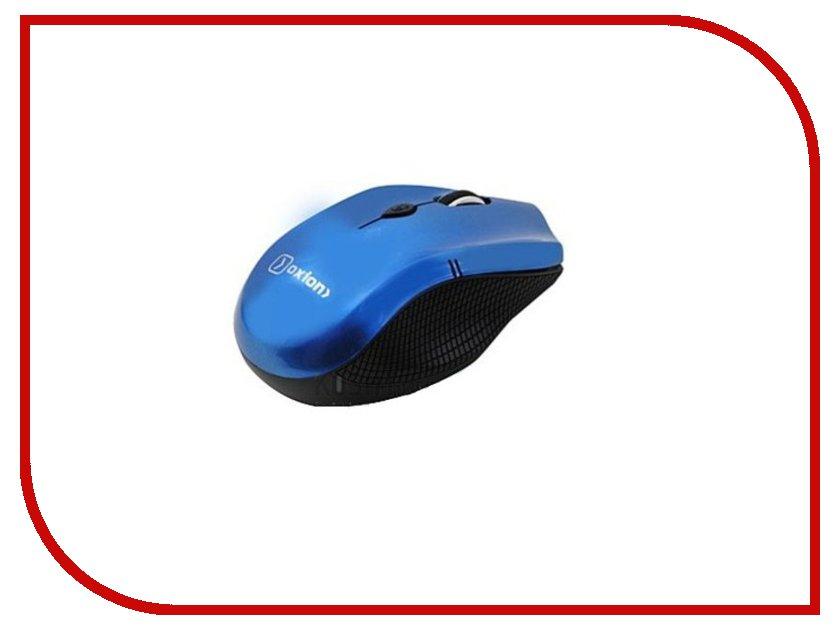 Мышь проводная Oxion OMSW010BL Blue USB
